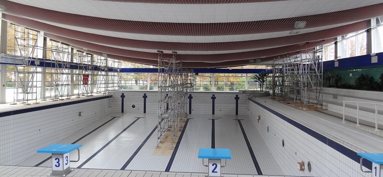 Sedime sp cialiste structure bois et m tal for Habsheim piscine