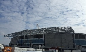 Centre d'entraînement  et tribunes du  Stade de Lyon