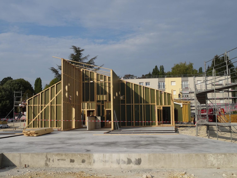 Construction d'une école et d'un périscolaire