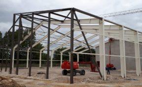 Reconstruction gymnase Arcopolis